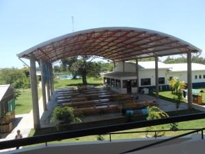 Braeburn International School in Bamburi, Mombasa – Outdoor dining