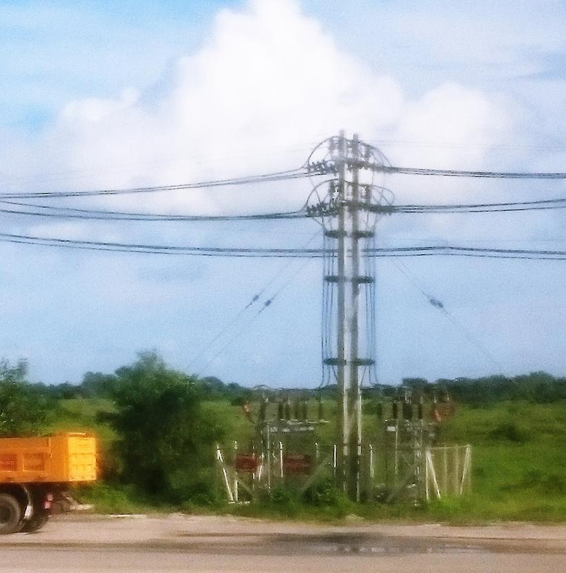 ミャンマー ティラワ工業団地 電源