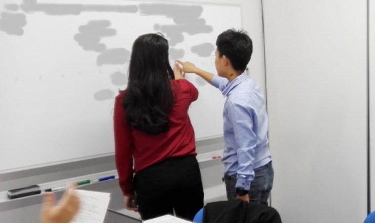 国際化推進インターンシップ事業:ミャンマーから大学生を受け入れ