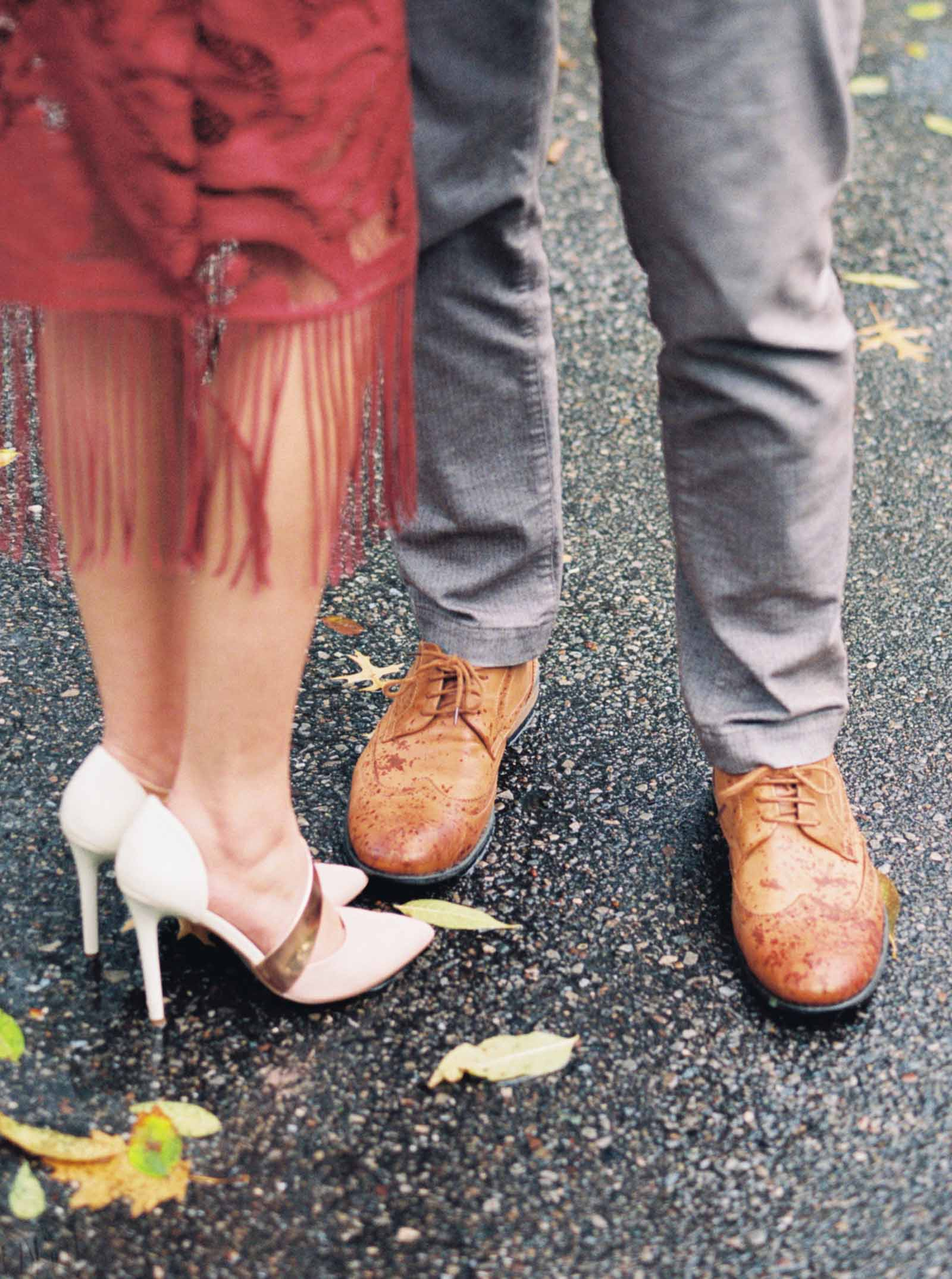 engagement session shoe inspiration -krmorenophoto