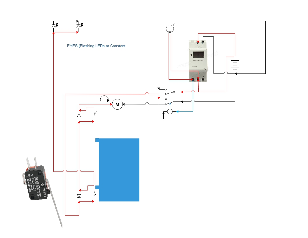 small resolution of chicken co op door opener wiring diagram