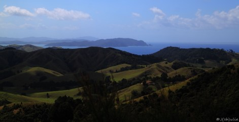 da hinten, Bay of Islands