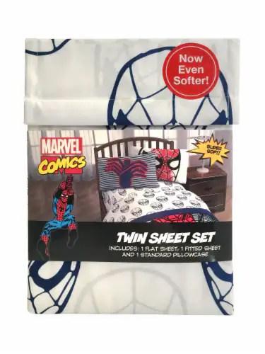 Fred Meyer Bedding : meyer, bedding, Marvel, Spiderman, Sheet, Meyer