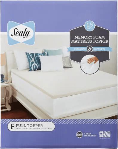 Fred Meyer Bedding : meyer, bedding, Meyer, Sealy, Memory, Mattress, Topper, White,