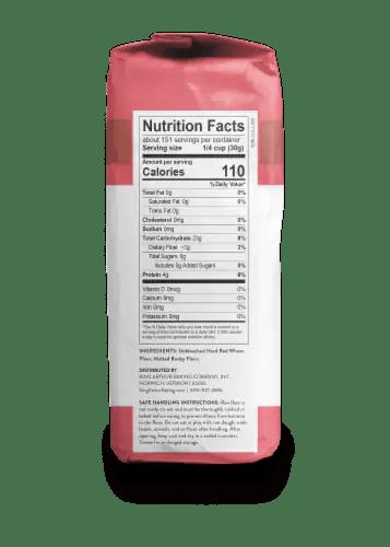 All Purpose Flour Nutrition Label : purpose, flour, nutrition, label, Soopers, Arthur, Flour, Unbleached, All-Purpose, Flour,