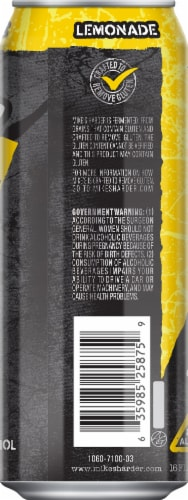 Mike's Harder Cranberry Nutrition Facts : mike's, harder, cranberry, nutrition, facts, Mike's, Harder, Lemonade, Premium, Beverage,