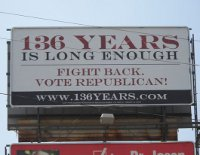 Alabama GOP billboard