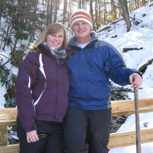 Brian and Erica in West Virginia