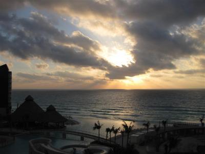 Honeymoon View at Sunset
