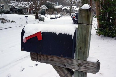 Cold Mailbox