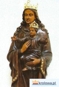 Rzeźba Matki Bożej w sanktuarium w Willesden