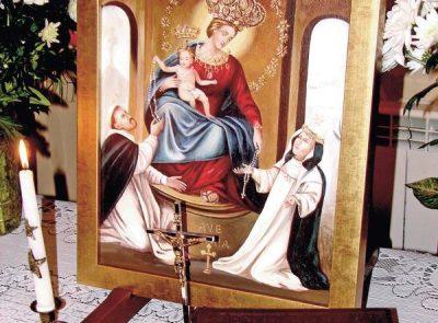 Obraz Królowej Różańca Świętego