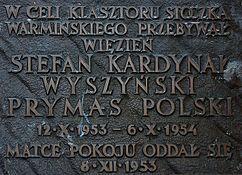 Tablica - Stefan Wyszyński