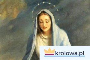Maryja pochylona nad dziećmi