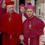 Kard. Stefan Wyszyński i abp Antoni Baraniak w trakcie Soboru