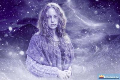 Kobieta i gwiazdy