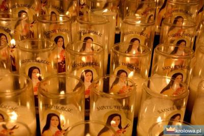Teresa z Lisieux świece
