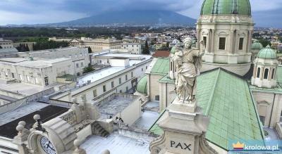 Fasada Sanktuarium w Pompejach