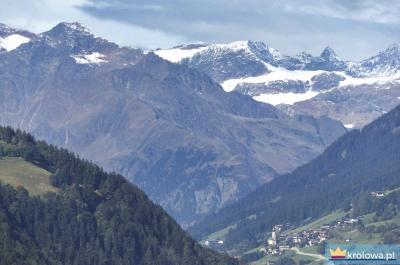 Pieszo do Róży Duchownej przez Tyrol
