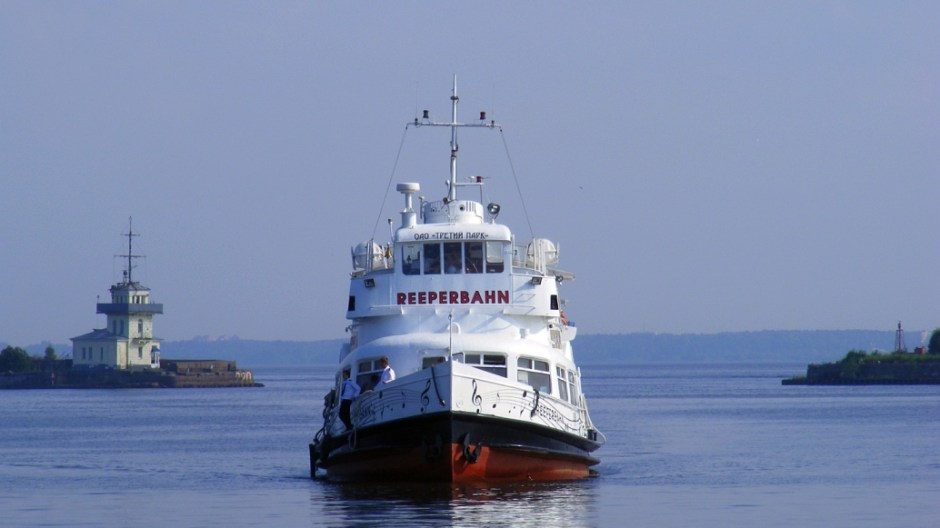 теплоход рипербан - морские прогулки по фортам