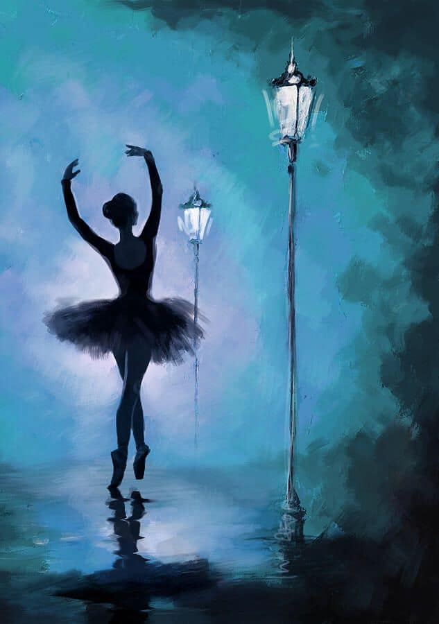 Best Paint by Numbers - Ballerina