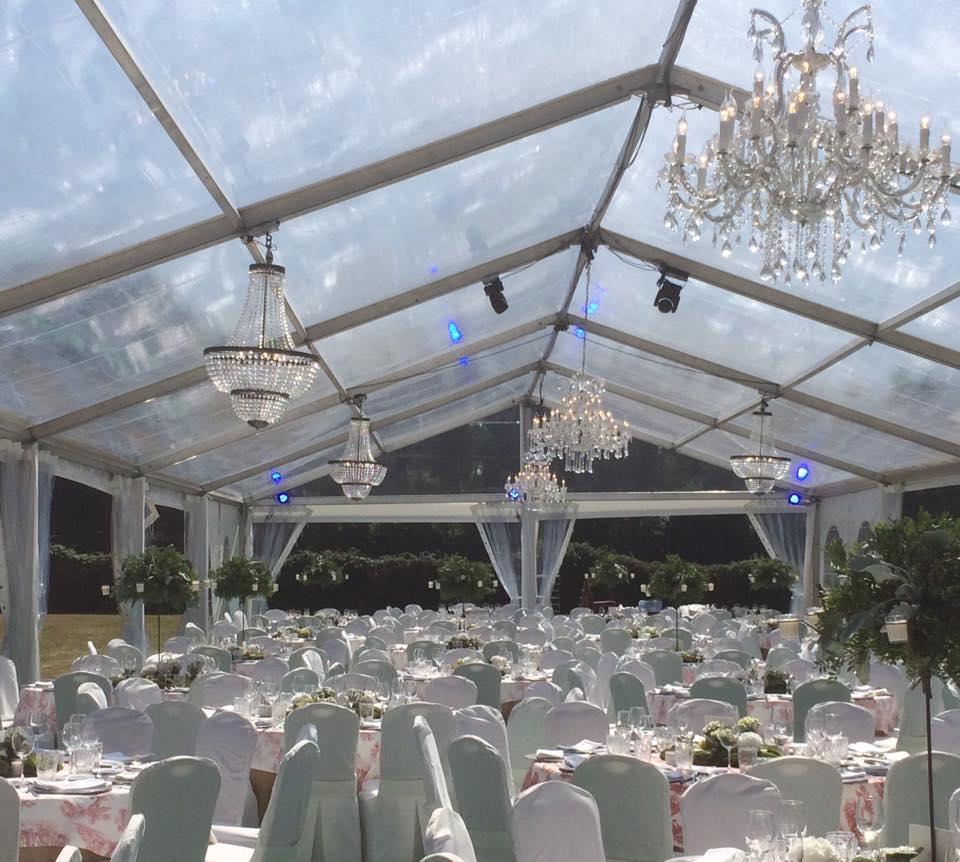Dekoration Hochzeit Mieten  Beleuchtung Zelt ntig