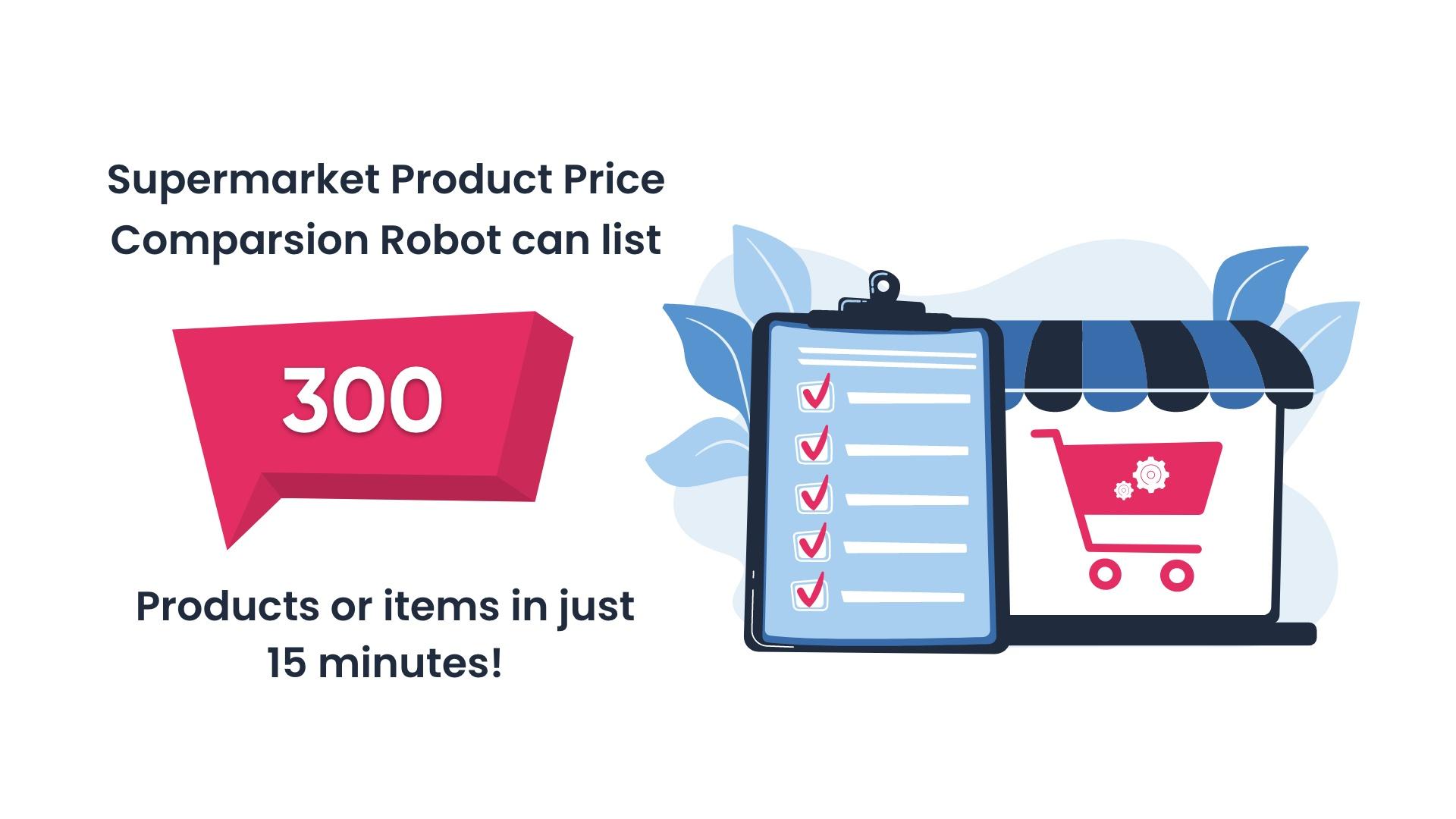 product price comparison robot case