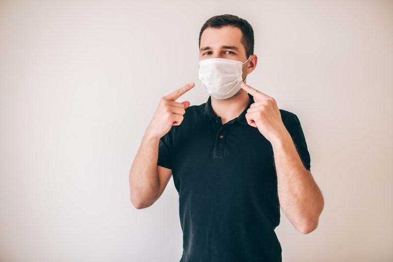 Efectos de la mascarilla sobre piel, ojos y boca y como prevenirlos