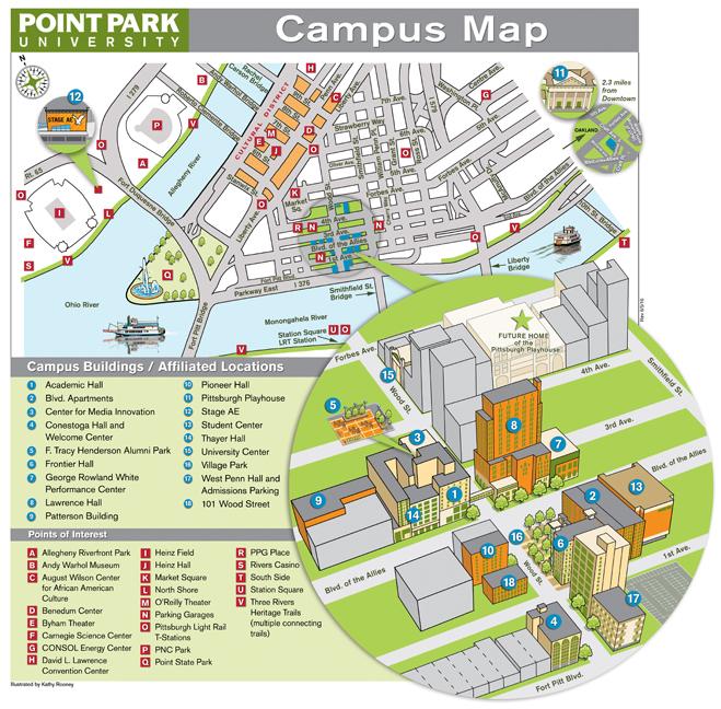 Kathy Rooney Maps Design