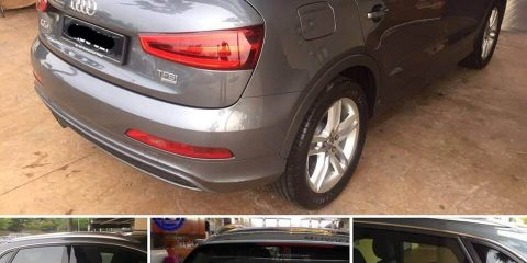 Haverkamp audi Q3 ceramic tinting film