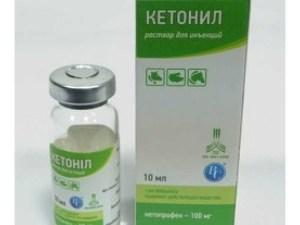 Кетоніл ін. 10 мл