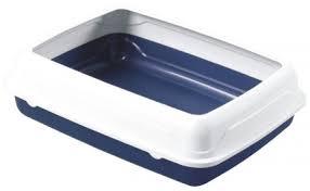Туалет з бортом №1 синій Q11S
