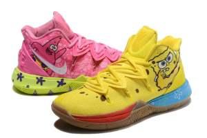 Nike Kyrie 5 Spongebob Custom