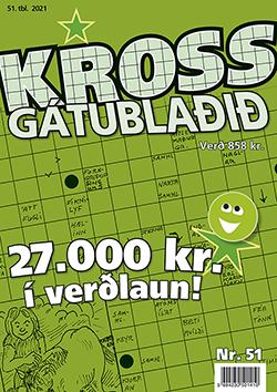 Krossgátublaðið 51. tbl. 2021 - 858 kr.