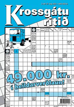 Krossgáturitið 3. tbl. 2021 - 858 kr.