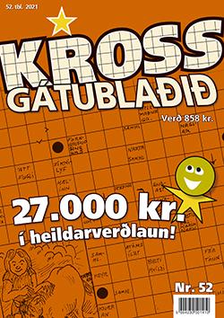 Krossgátublaðið 52. tbl. 2021 - 858 kr.
