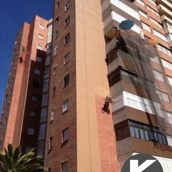 Tabajo vertical - edificios viviendas logo