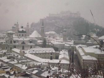 Salzburg, Αυστρία, Γενάρης 2009