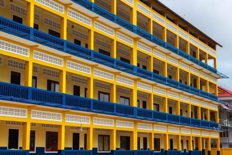 Modern School Buildings Infrastructure - Krou Yeung Centre