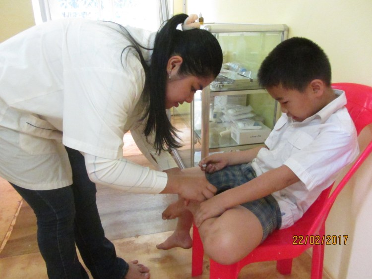 Health care at the school health clinic