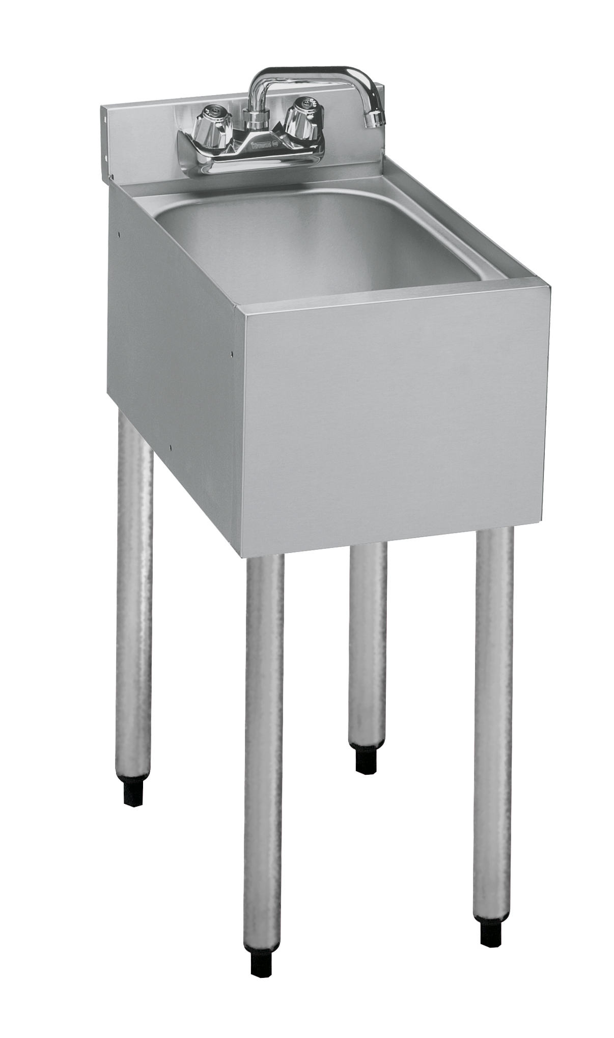 one compartment bar sink