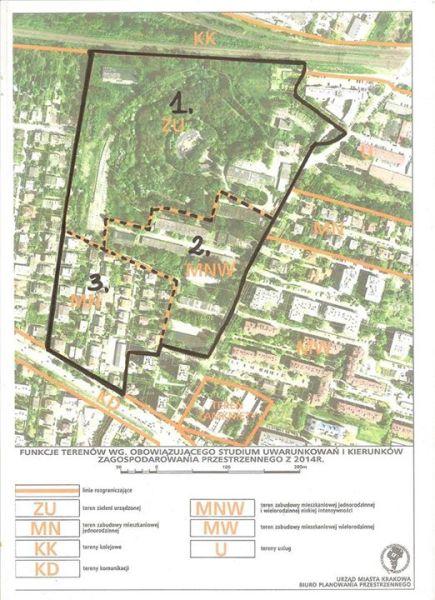 Nowy plan Zielone Bronowice