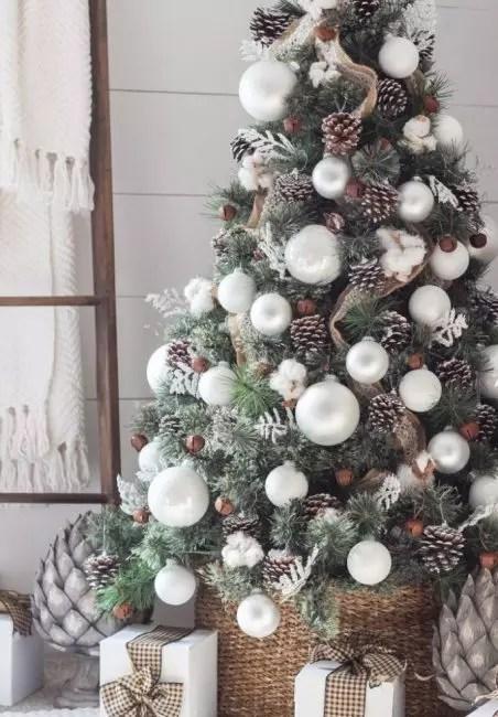 Bomull, kopper og hvite leker - Vintermaskiner for rolig atmosfære