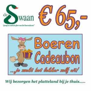 Boeren Cadeaubonnen 65 - Een Cadeaubon is het ideale kerstpakket voor elke medewerker - Bestel bij BoerenCadeaubon- www.Krstpkkt.nl
