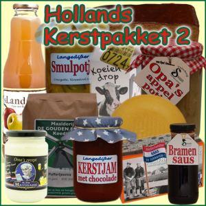 Hollands kerstpakket 2 - Streekpakket gevuld met lokale streekproducten - Kerstpakket Specialist - www.kerstpakkettencadeaubon.nl