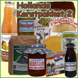 Hollands kerstpakket 2 - Streekpakket gevuld met unieke lokale streekproducten - Kerstpakket Specialist - www.kerstpakkettencadeaubon.nl