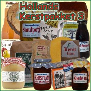 Hollands kerstpakket 3 - Streekpakket gevuld met unieke lokale streekproducten - Kerstpakket Specialist - www.kerstpakkettencadeaubon.nl