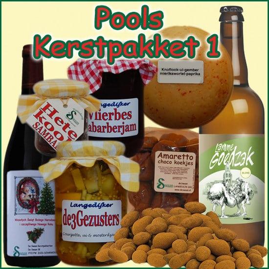 Kerstpakket Pools 1 - Streekpakket gevuld met unieke Noord-Hollandse streekproducten - Kerstpakket Specialist - www.krstpkkt.nl