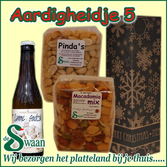 Relatiegeschenken Specialist NH- Kerstpakket Aardigheidje - Streekpakket relatiegeschenk gevuld streekproducten - www.KerstpakkettenCadeaubon.nl