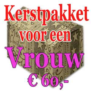 Verrassingspakket voor de Vrouw 60 - Mystery pakket - verras je vrouw - www.kerstpakkettencadeaubon.nl